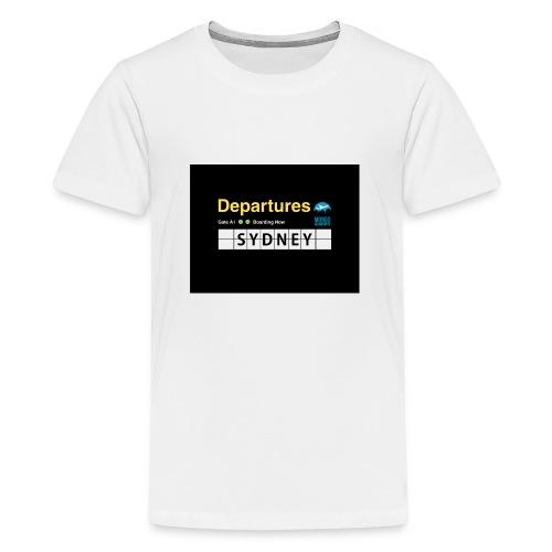 SYDNEY png - Maglietta Premium per ragazzi