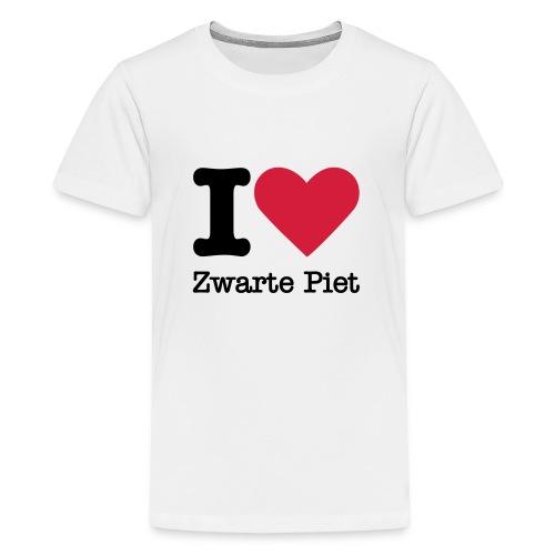 I Love Zwarte Piet - Teenager Premium T-shirt
