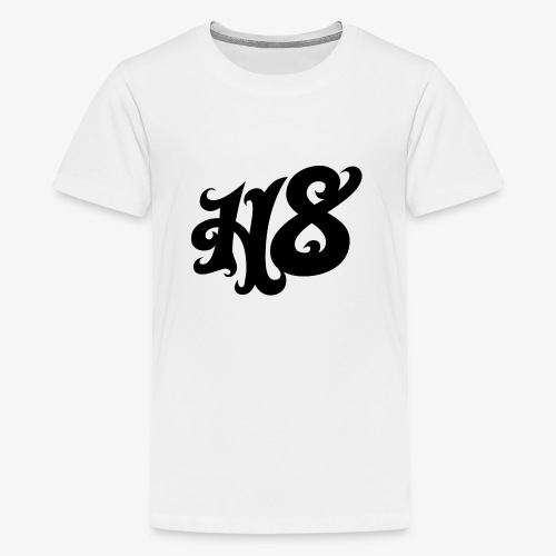 H8 black - Teenager Premium T-Shirt