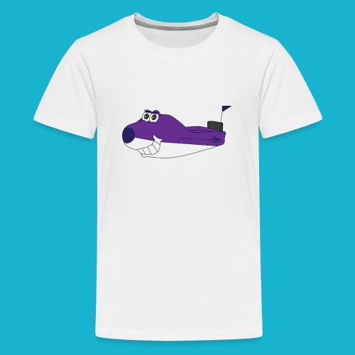 Flo - Teenage Premium T-Shirt