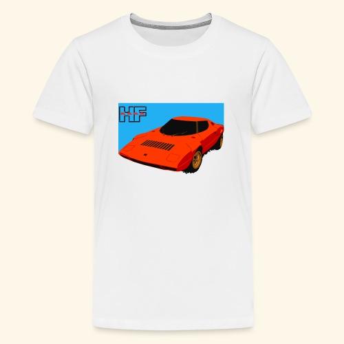 rally car - Teenage Premium T-Shirt