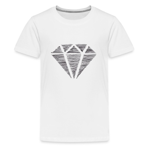 Diamante - Camiseta premium adolescente