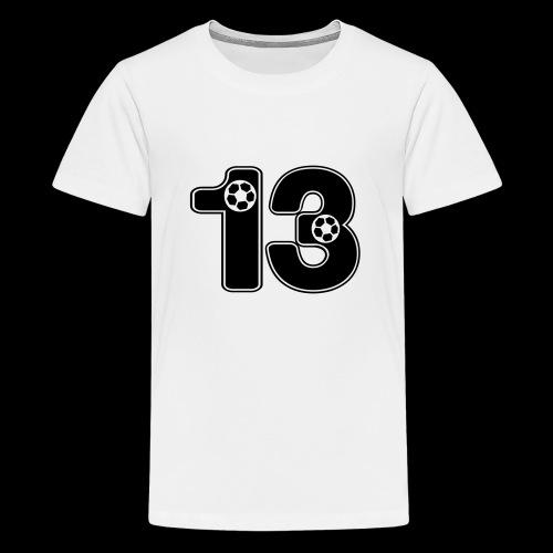 foot numero 13 - Teenage Premium T-Shirt