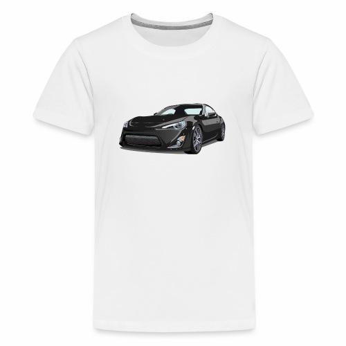 GT86/BRZ - Premium T-skjorte for tenåringer