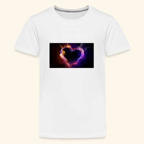love at first site - Teenage Premium T-Shirt