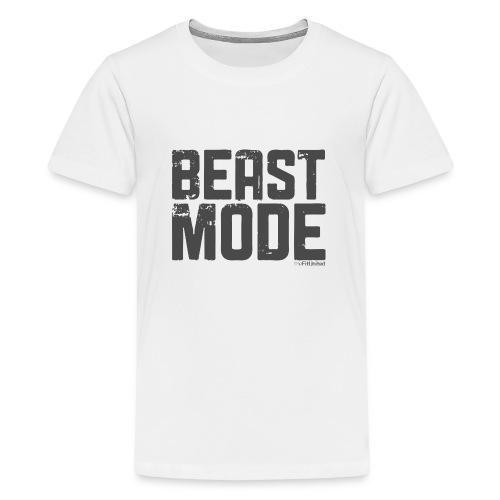 beastmode_logo - Teenage Premium T-Shirt