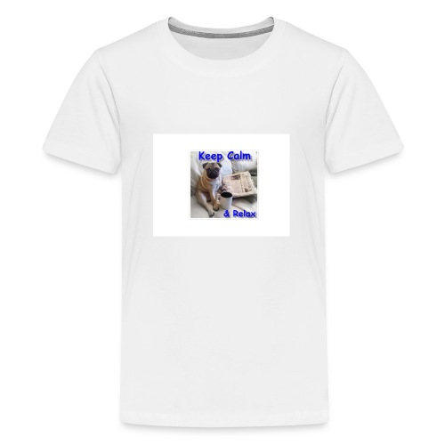 relax - Teenager Premium T-shirt