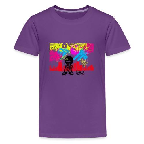 Magliette personalizzate bambini Dancefloor - Maglietta Premium per ragazzi