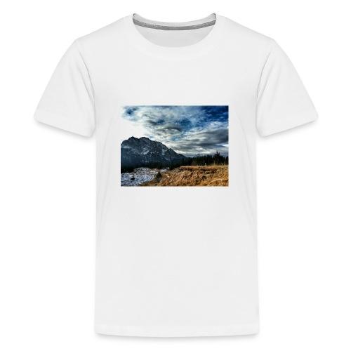 Wolkenband - Teenager Premium T-Shirt
