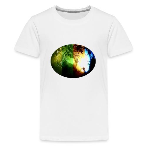 Seasons Passing - Teenage Premium T-Shirt