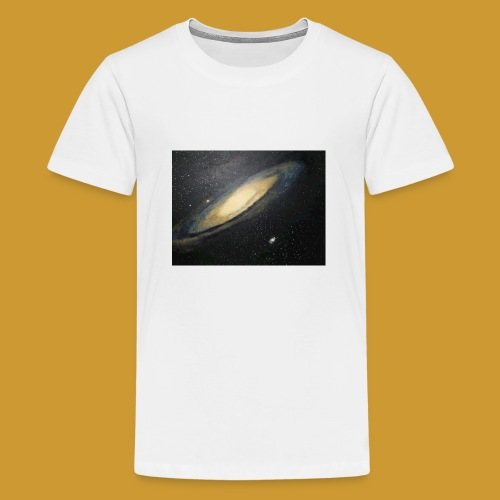 Andromeda - Mark Noble Art - Teenage Premium T-Shirt