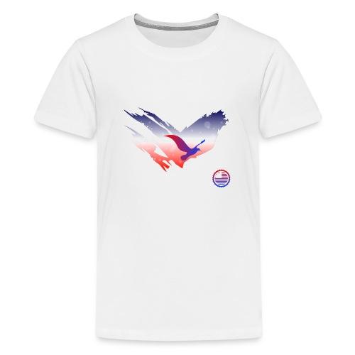 Space Atlas Tee America - Teenager premium T-shirt