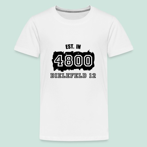 Established 4800 Bielefeld 12 - Teenager Premium T-Shirt
