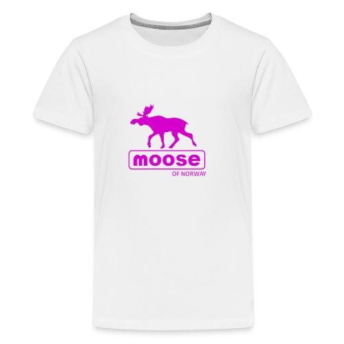 MooseofNorway - Premium T-skjorte for tenåringer