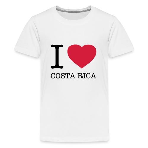 I love Costa Rica - Teenage Premium T-Shirt