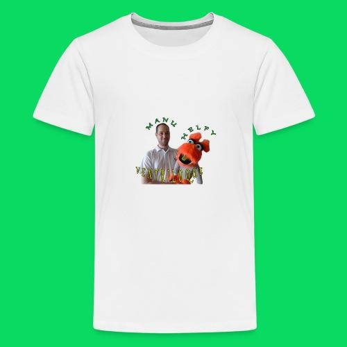 casquette manu et helfy - T-shirt Premium Ado