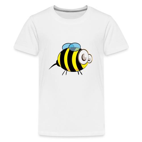 Beeliver in Bees - Teenage Premium T-Shirt