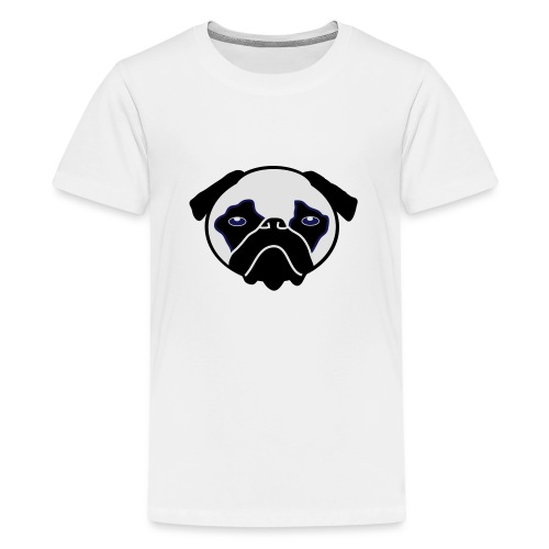 Mops, Hund - Teenager Premium T-Shirt