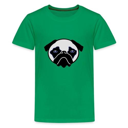 Mops, Hund - Teenager Premium T-Shirt