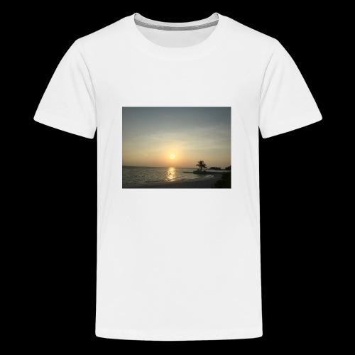 Sunset clothes - Teenage Premium T-Shirt