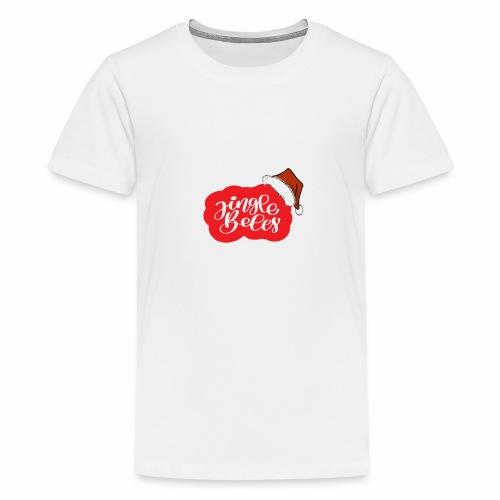 flubbers weihnachten jingle bells - Teenager Premium T-Shirt