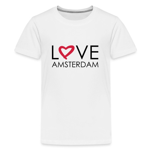 love amsterdam - Teenager Premium T-Shirt