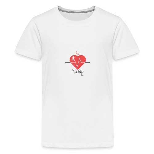 Logo Be Healthy - T-shirt Premium Ado
