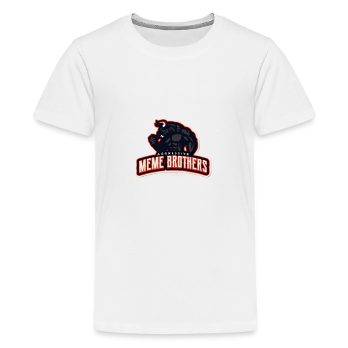 Meme brothers Merch - Premium-T-shirt tonåring
