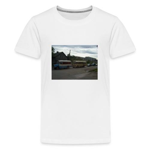Sortavala - Teinien premium t-paita