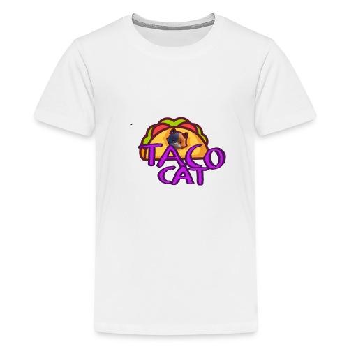 TACO CAT - Premium-T-shirt tonåring