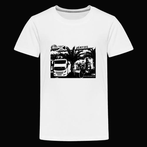 White Rastas Fan Artikel - Teenager Premium T-Shirt