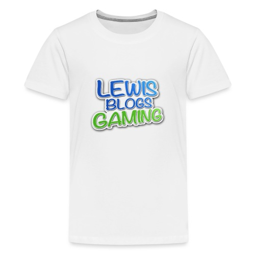 LEWISLOGO - Teenage Premium T-Shirt