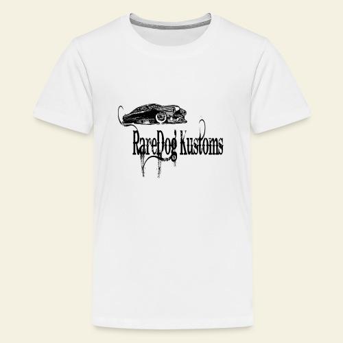 rd kustoms typed - Teenager premium T-shirt