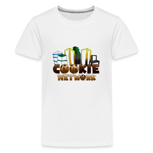 Cookienetwork logo - Teenager Premium T-shirt