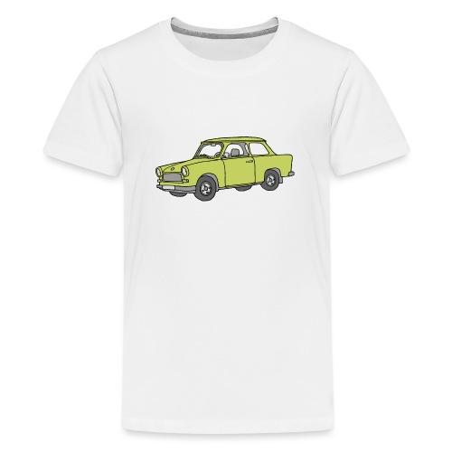 Trabi, Trabant (baligrün) - Teenager Premium T-Shirt