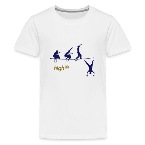Highlife (woman) - Teenage Premium T-Shirt