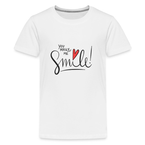 just smile - Teenager Premium T-Shirt