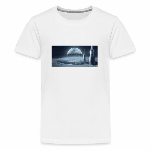 fantasy mond - Teenager Premium T-Shirt