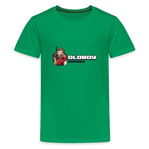 Oldboy Gamers Fanshirt - Premium T-skjorte for tenåringer