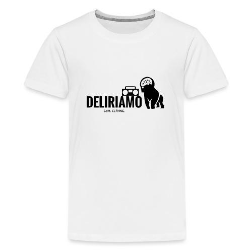 DELIRIAMO CLOTHING (GdM01) - Maglietta Premium per ragazzi