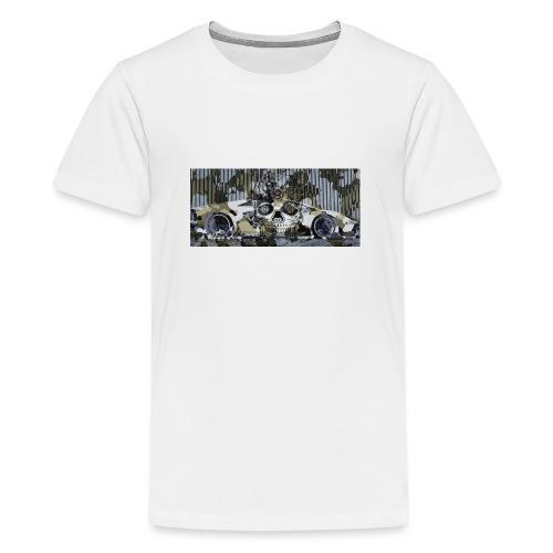 calavera style - Teenage Premium T-Shirt