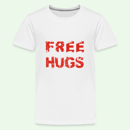 Free Hugs // Flirten // T-Shirt - Teenager Premium T-Shirt