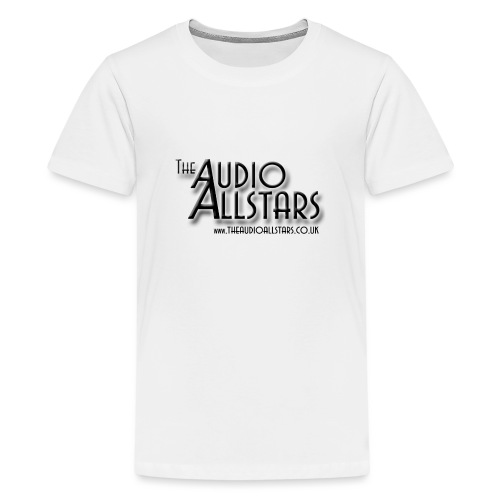 The Audio Allstars logo - Teenage Premium T-Shirt