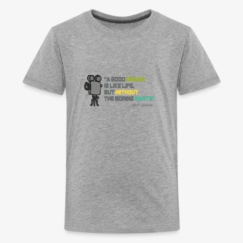 Pasión por el cine - Camiseta premium adolescente