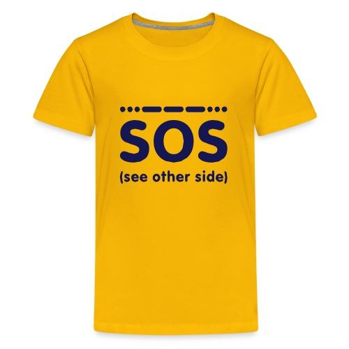 SOS - Teenager Premium T-shirt