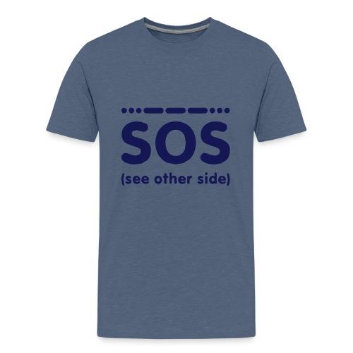SOS - Teenager Premium T-shirt