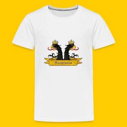 Zwei köpfe - Camiseta premium adolescente