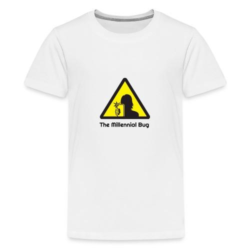 The Millennial Bug - Teenage Premium T-Shirt