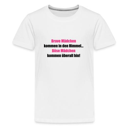 Brave Mädchen - Teenager Premium T-Shirt