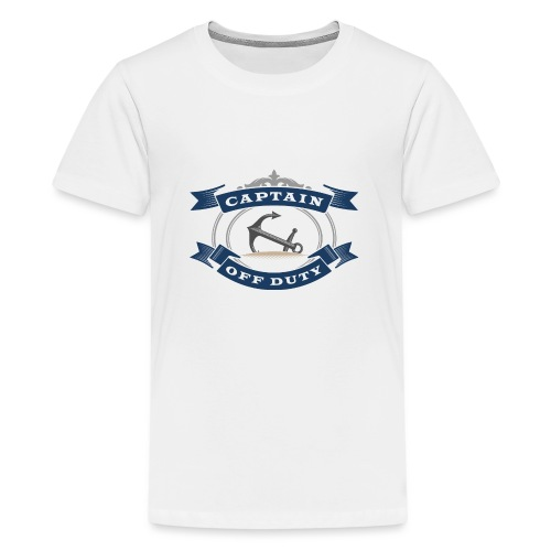 Captain Off Duty - Captain out of service - Teenage Premium T-Shirt